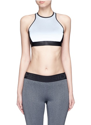 Main View - Click To Enlarge - Monreal London - Reflective power sports bra