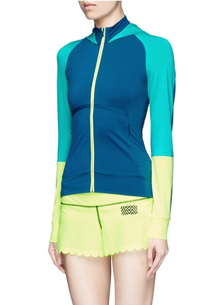 Front View - Click To Enlarge - Monreal London - 'Featherweight' performance jersey jacket