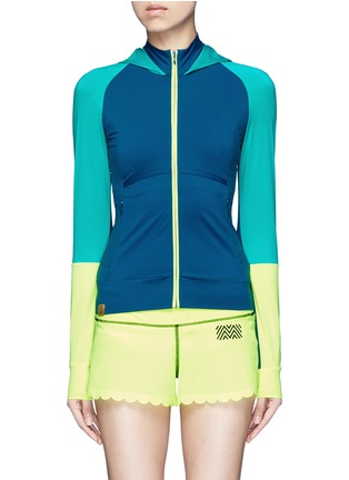 Main View - Click To Enlarge - Monreal London - 'Featherweight' performance jersey jacket