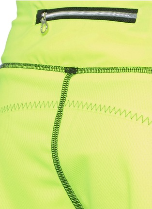 Detail View - Click To Enlarge - Monreal London - 'Scallop' performance jersey training shorts