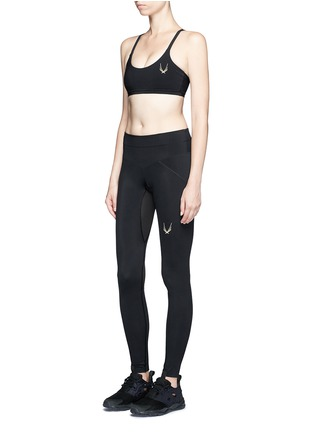 Figure View - Click To Enlarge - Lucas Hugh - 'Core performance' sports leggings