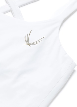 Detail View - Click To Enlarge - Lucas Hugh - 'Core Performance' cross back tank top