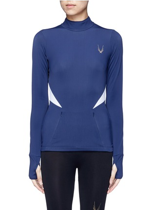 Main View - Click To Enlarge - Lucas Hugh - 'Winter Sport' fleece lined performance top