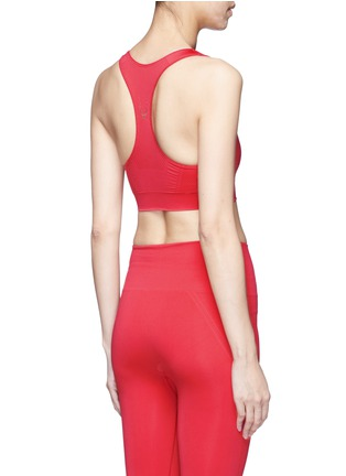 Back View - Click To Enlarge - Lucas Hugh - Technical knit racerback sports bra