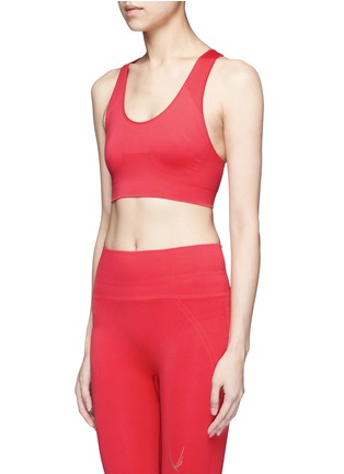 Front View - Click To Enlarge - Lucas Hugh - Technical knit racerback sports bra