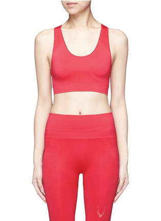 Main View - Click To Enlarge - Lucas Hugh - Technical knit racerback sports bra