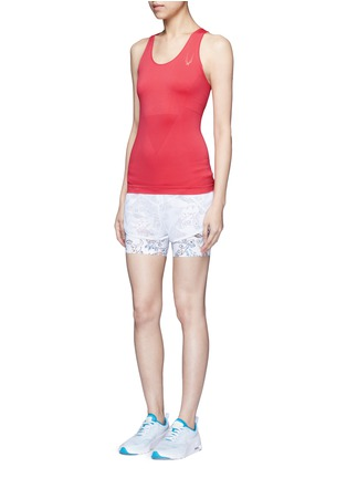 Figure View - Click To Enlarge - Lucas Hugh - Technical knit racerback tank top