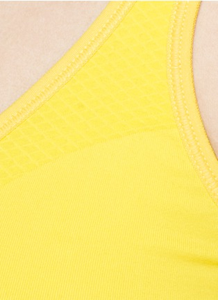 Detail View - Click To Enlarge - Lucas Hugh - Technical knit sports bra