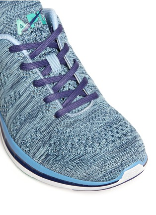 Detail View - Click To Enlarge - Athletic Propulsion Labs - 'Techloom Pro' marled knit sneakers