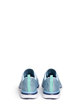 Back View - Click To Enlarge - Athletic Propulsion Labs - 'Techloom Pro' marled knit sneakers