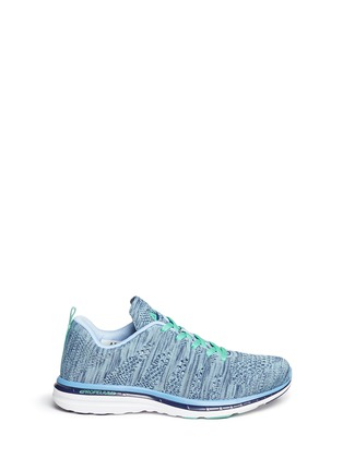 Main View - Click To Enlarge - Athletic Propulsion Labs - 'Techloom Pro' marled knit sneakers