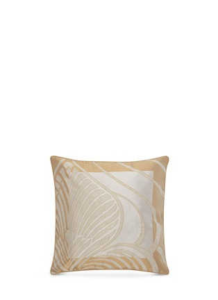 Main View - Click To Enlarge - Frette - Luxury Palmette cushion