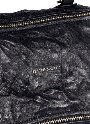 Detail View - Click To Enlarge - Givenchy - 'Pandora' small sheepskin leather bag