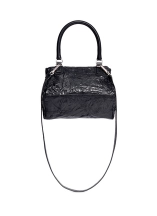 Back View - Click To Enlarge - Givenchy - 'Pandora' small sheepskin leather bag