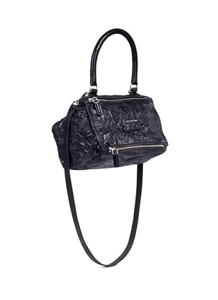 Front View - Click To Enlarge - Givenchy - 'Pandora' small sheepskin leather bag