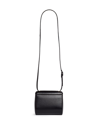 Back View - Click To Enlarge - Givenchy - 'Pandora Box' mini leather bag