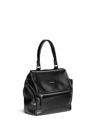 Figure View - Click To Enlarge - Givenchy - 'Pandora' grainy leather backpack