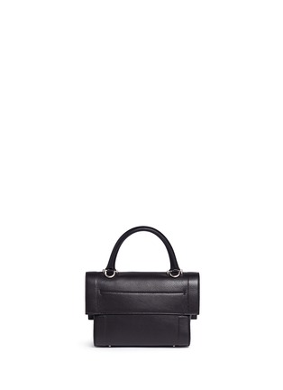 Back View - Click To Enlarge - Givenchy - 'Shark' mini leather bag