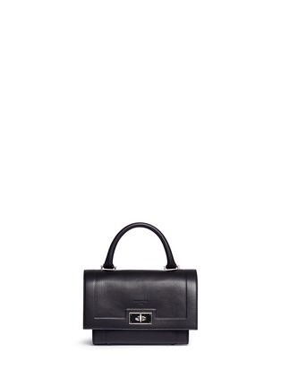 Main View - Click To Enlarge - Givenchy - 'Shark' mini leather bag