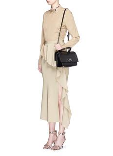 Givenchy'Shark' mini leather bag