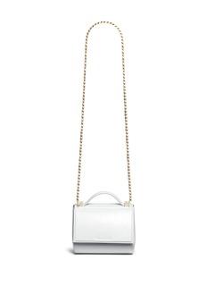 Givenchy'Pandora Box' mini saffiano patent leather chain bag
