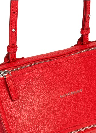 Detail View - Click To Enlarge - Givenchy - 'Pandora' mini leather bag