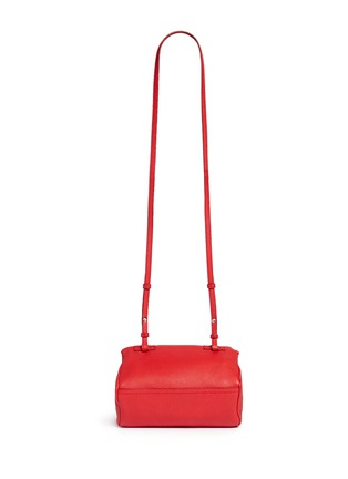 Back View - Click To Enlarge - Givenchy - 'Pandora' mini leather bag