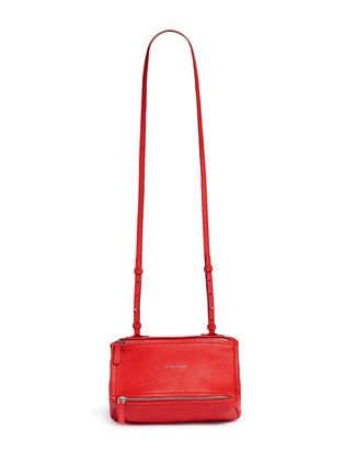 Main View - Click To Enlarge - Givenchy - 'Pandora' mini leather bag