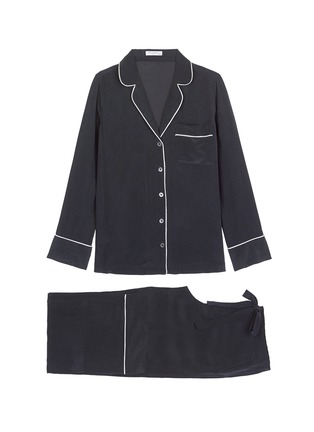 Main View - Click To Enlarge - Equipment - 'Avery' silk pyjama set