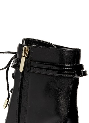 Detail View - Click To Enlarge - Sam Edelman - 'Bryton' lace-up leather boots