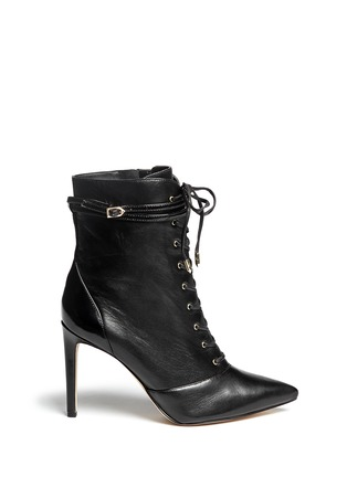 Main View - Click To Enlarge - Sam Edelman - 'Bryton' lace-up leather boots