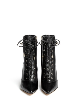 Figure View - Click To Enlarge - Sam Edelman - 'Bryton' lace-up leather boots