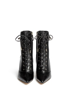SAM EDELMAN 'Bryton' lace-up leather boots