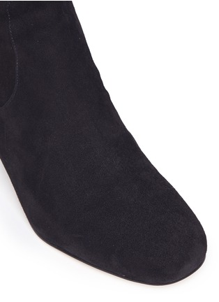 Detail View - Click To Enlarge - Sam Edelman - 'Elina' suede thigh high boots