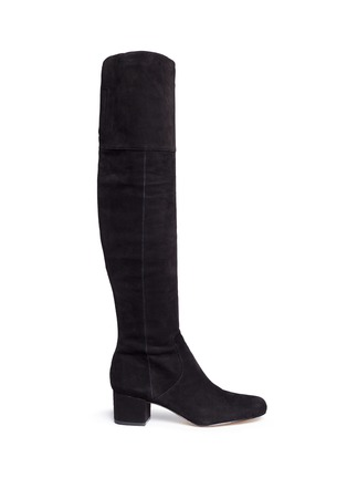 Main View - Click To Enlarge - Sam Edelman - 'Elina' suede thigh high boots