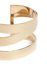 Three line brass cuff