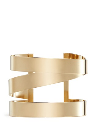 Main View - Click To Enlarge - Isabel Marant - Three line brass cuff
