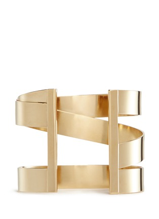 Figure View - Click To Enlarge - Isabel Marant - Three line brass cuff