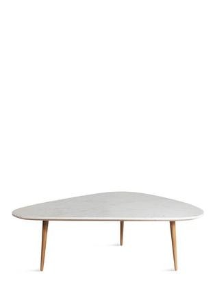 首图 - 点击放大 - RED EDITION - FIFTIES大理石台面橡木咖啡桌(大)