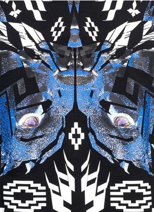 Detail View - Click To Enlarge - Marcelo Burlon - 'Pueblo' digital print T-shirt
