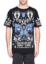 'Pueblo' digital print T-shirt