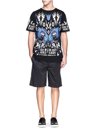 Marcelo Burlon-'Pueblo' digital print T-shirt