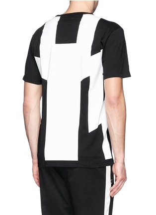 Back View - Click To Enlarge - Marcelo Burlon - 'Piotr' graphic print jersey T-shirt