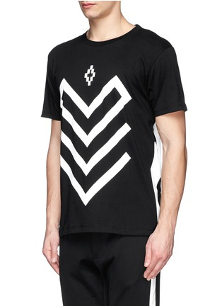Front View - Click To Enlarge - Marcelo Burlon - 'Piotr' graphic print jersey T-shirt