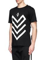 'Piotr' graphic print jersey T-shirt
