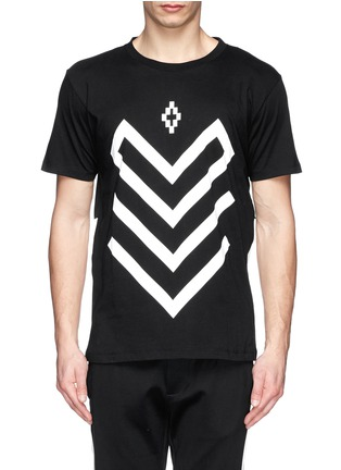 Main View - Click To Enlarge - Marcelo Burlon - 'Piotr' graphic print jersey T-shirt