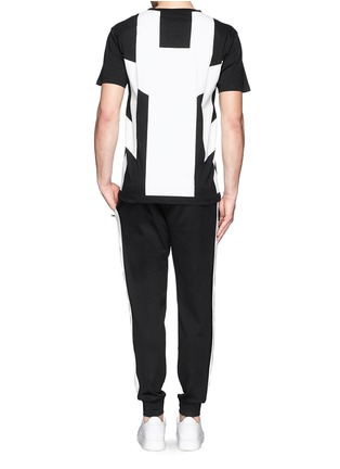 Figure View - Click To Enlarge - Marcelo Burlon - 'Piotr' graphic print jersey T-shirt