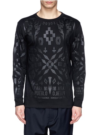 Main View - Click To Enlarge - Marcelo Burlon - 'Tami' rubberised graphic print T-shirt
