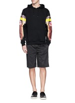 'Adam Ape' print cotton terry hoodie