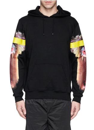 Main View - Click To Enlarge - Marcelo Burlon - 'Adam Ape' print cotton terry hoodie